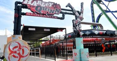 Six Flags Over Texas' New Harley Quinn Spinsanity