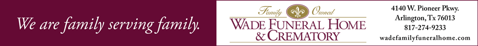 Wade Family Funeral Home Oct 2020