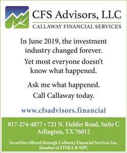 Callaway Financial Services Aug 2020